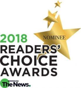 2018 readers choice awards nominee logo